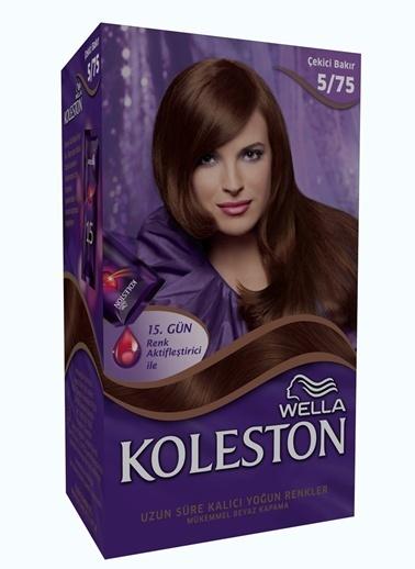 Koleston Koleston Kit Saç Boyası 5/75 Çekici Bakır Renkli